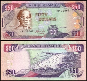 JAMAJKA, 50 DOLLARS 2004, Pick 79e