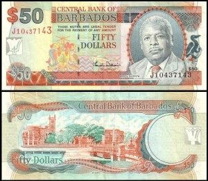 BARBADOS, 50 DOLLARS (2000), Pick 64