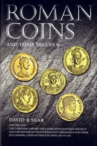 Sear, Roman coins and their values, Tom V, katalog monet rzymskich AD 337-491