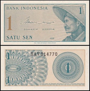 INDONEZJA, 1 SEN 1964, Pick 90r