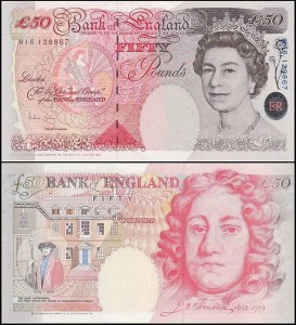 ANGLIA	50 POUNDS	(2006-) Pick 388c