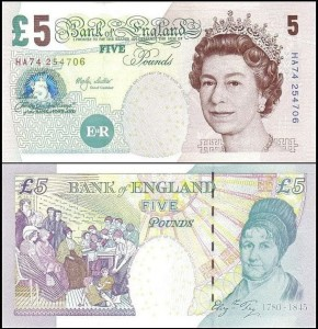 ANGLIA	5 POUNDS	(2002-) Pick 391a